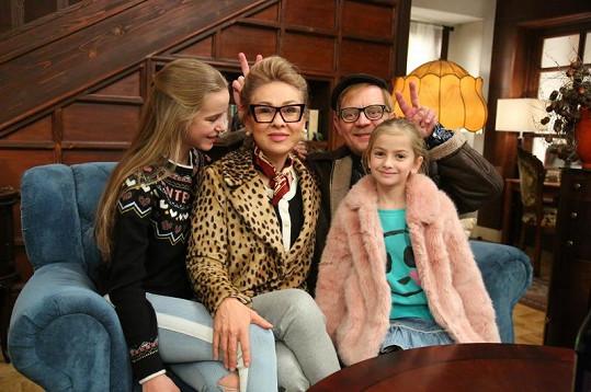 Čtvrtníček a jeho seriálová rodinka
