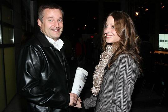 Vladimír Hron s přítelkyní.