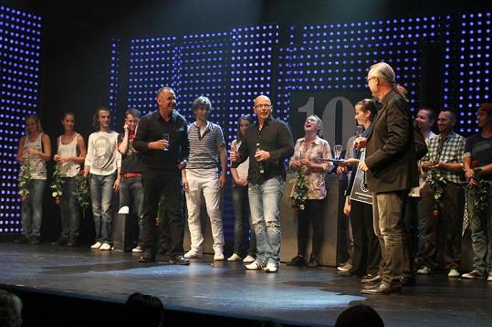 Na představení Osmého světadílu byla i kapela Elán.