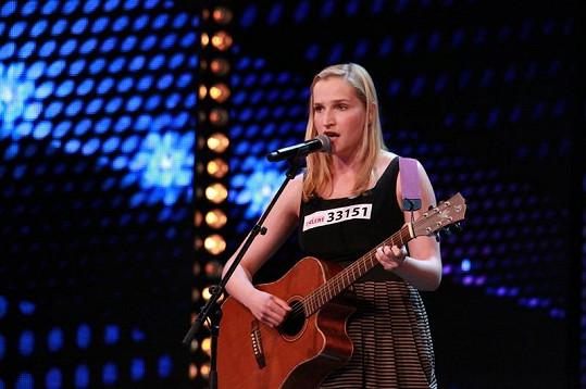 Katarína je horkou favoritkou Talentu.