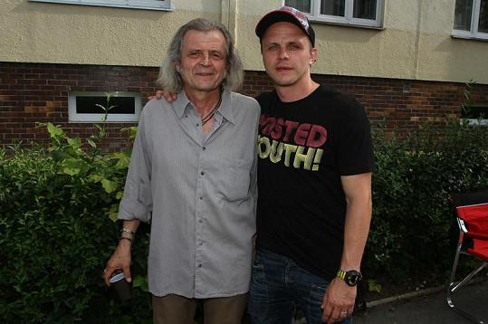 Rostislavové Novákové se potkali při natáčení poprvé.