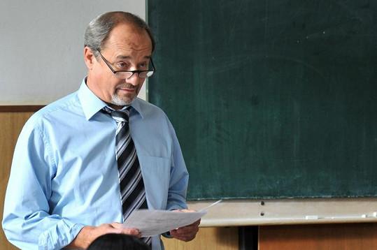 Viktor Preiss jako profesor Křístek.
