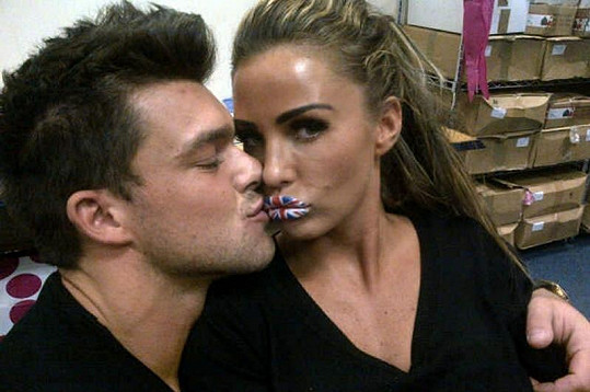 Katie Price a Leandro Penna.