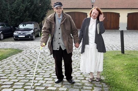 Stanislav Remunda by se bez pomoci své ženy již neobešel.