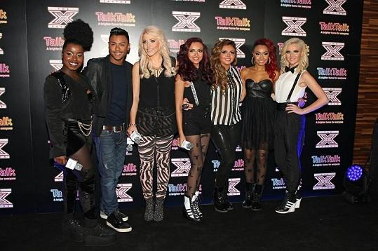 Zbývající finalisté britského X Factoru.