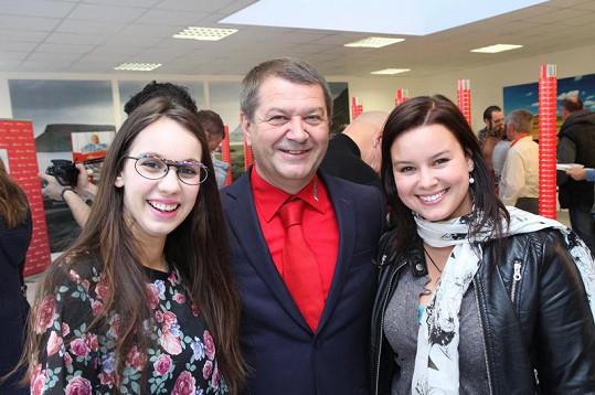 Patricie s kolegyní Míšou Doubravovou