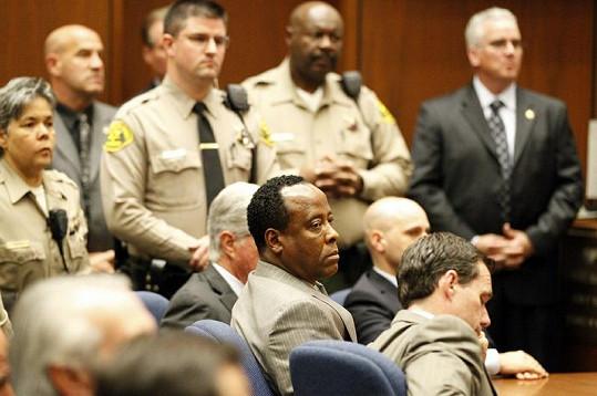 Conrad Murray u soudu.
