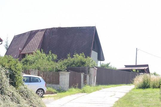 V tomto domě bydlí syn a bývalá milenka Ivana Mládka.