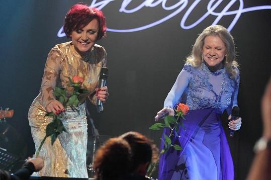 Duet s Evou Pilarovou sklidil zasloužený aplaus.