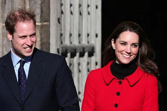 Půvabná Kate Middleton.