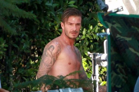 Novou kolekci navrhl sám Beckham.