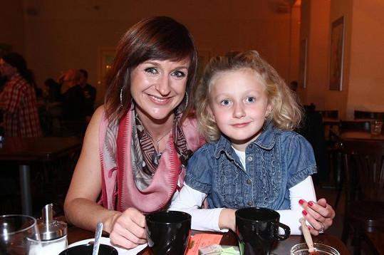 Terezie Kašparovská s dcerou Emou.