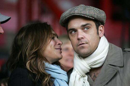Robbie Williams a Ayda Field.