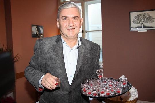 Miroslav Donutil je na svého syna hrdý.