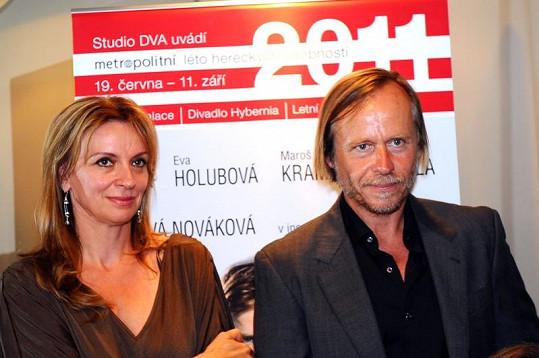 Ivana Chýlková a Karel Roden.