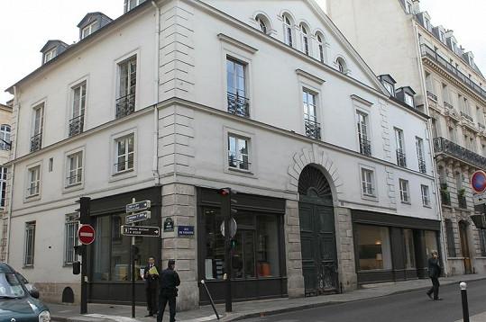 Dům, kde Pippa v Paříži přespává.