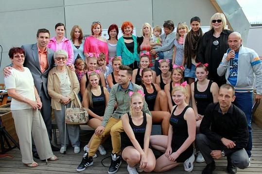 Účastníci projektu Pošli svůj příběh nadace Rakovina-věc veřejná.