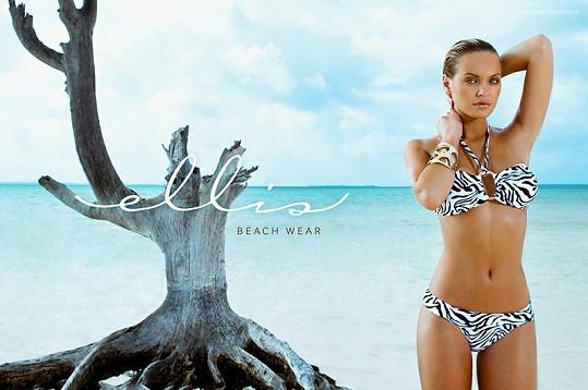 Elisandra Tomacheski pro Ellis Beach Wear.