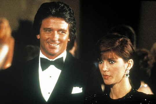 Pamela a Bobby Ewingovi ze seriálu Dallas.