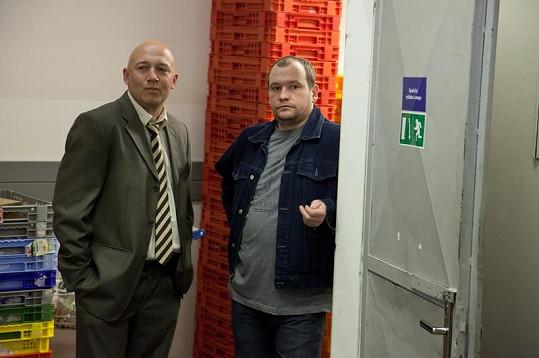 Robert Jašków (vlevo) v Kriminálce Anděl.