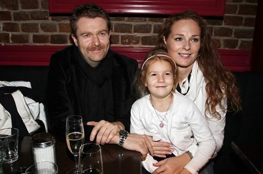 Malá Christel je svému otci neuvěřitelně podobná.