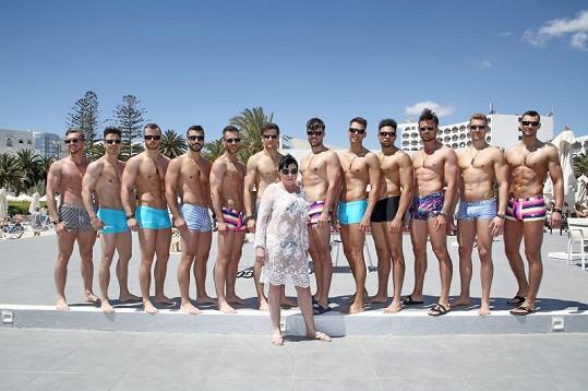 Naposled si Dáda užívala u moře v Tunisku na soustředění Muže roku.