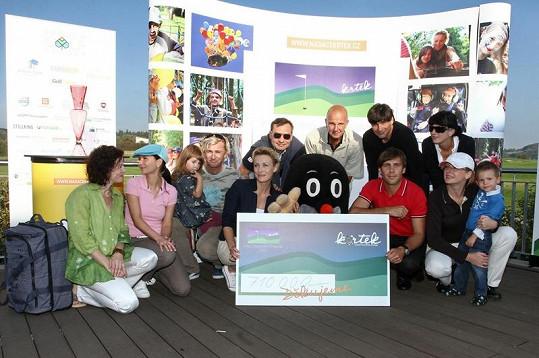 I díky podpoře slavných tváří se pro nadaci Krtek podařilo vybrat 710 tisíc korun.