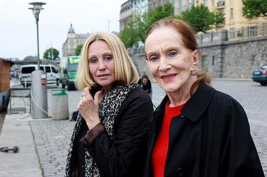 Soňa Červená s Olgou Sommerovou.