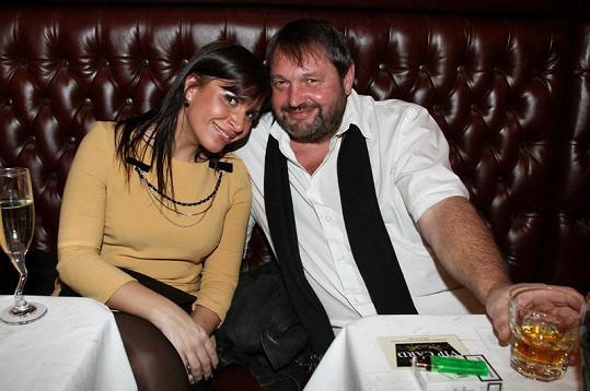 Andrea Kalivodová s Pepou Koktou.