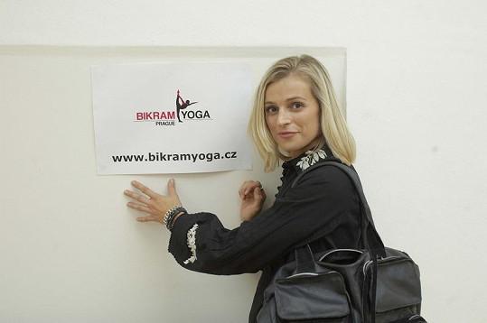 Ivana Jirešová chodí na jógu pravidelně.
