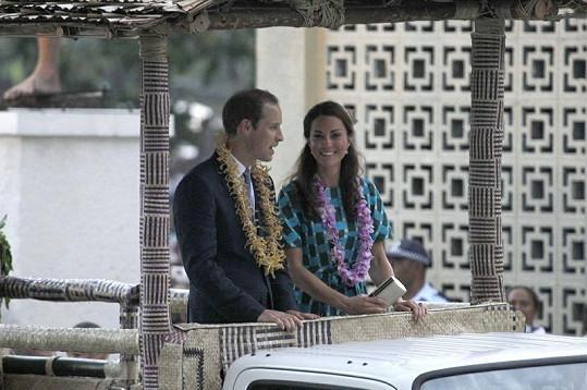 Kate i Williamovi se na Šalamounových ostrovech moc líbilo.