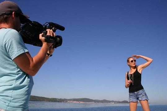Misska Romana Pavelková moderuje nový pořad o jachtingu.