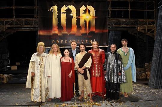 100. výroční představení Jesus Christ Superstar.