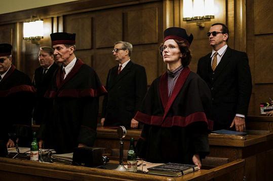 Aňa hraje ve filmu Milada tu nejzápornější možnou postavu.
