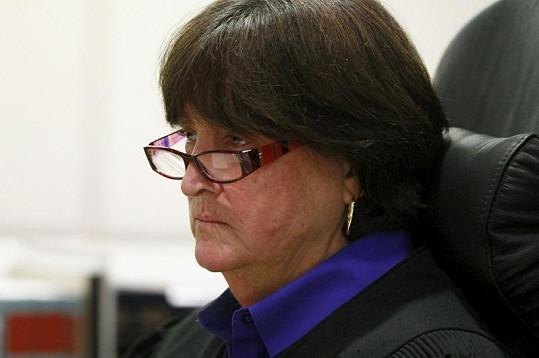 Soudkyně Stephanie Sautner nevypadala zrovna přívětivě.