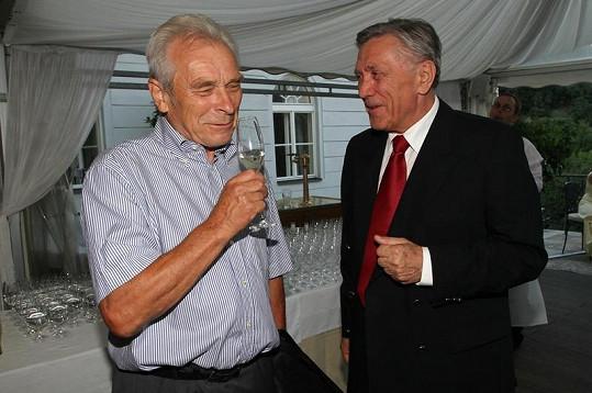 Alois Švehlík a Petr Kostka