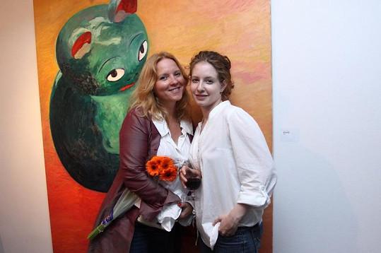 Tereza Herzová s dcerou Annelie.