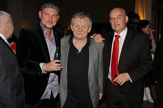 Zleva: Jakub Ludvík, Karel Šíp a Jiří Janeček.