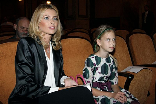Daniela Peštová s dcerou Ellou.