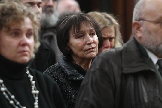 Marta Kubišová se neubránila dojetí.