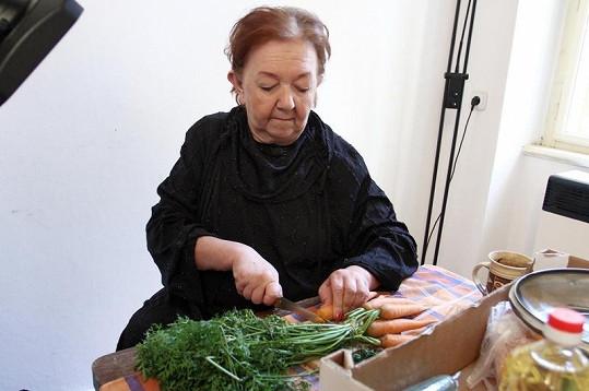 Populární Jaruš v kuchyni.