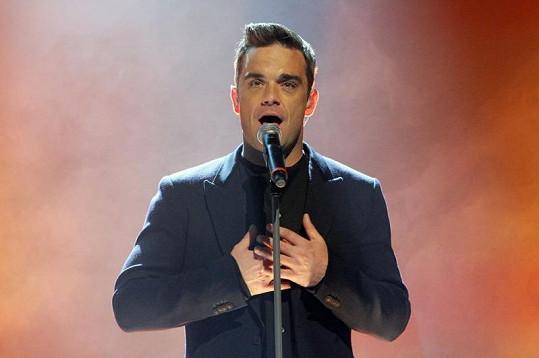 Robbie Williams bude tátou.