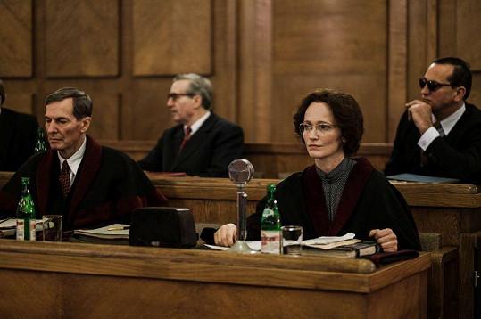 Natáčení v soudní síni se konalo na Pankráci.