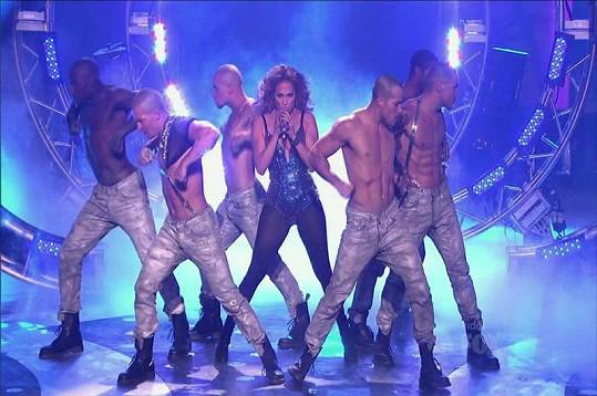 Jennifer Lopez si dokáže vybrat exkluzivní taneční 'křoví'.