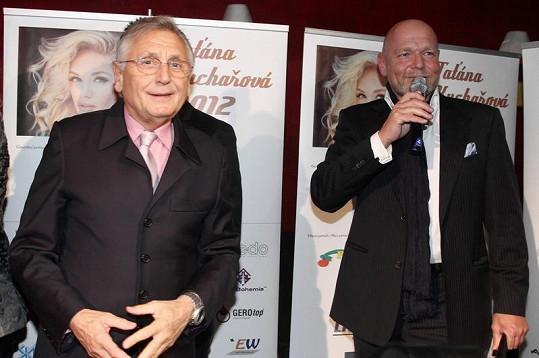 Marek Vašut a Jiří Menzel si zrovna nekápli do noty.