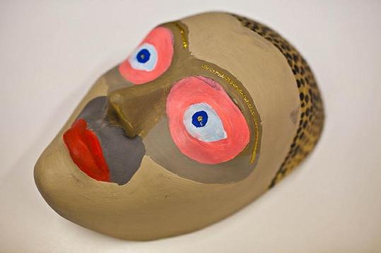 Petr Janda vytvořil opravdu originální masku.