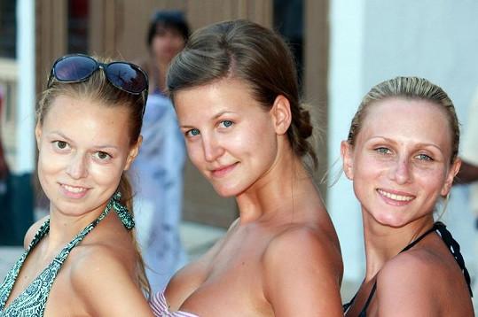Dívky se na soustředění Dominičiných modelek skamarádily.