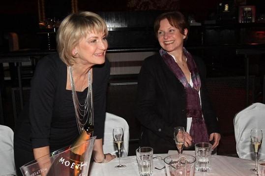 Eliška Balzerová (vlevo) a Marta Vančurová.
