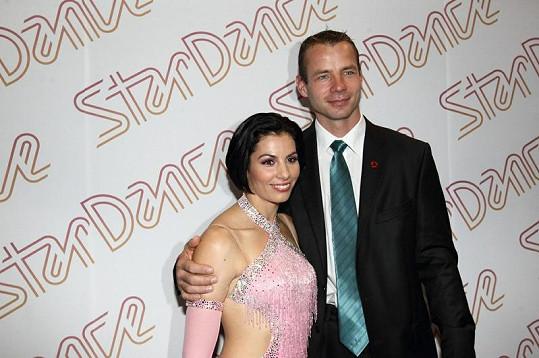 Tomáš svou manželku Katku chodí pravidelně podporovat.