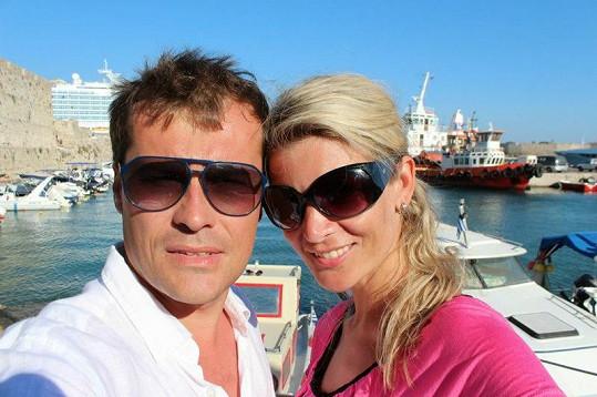 Iveta čeká prvního potomka s manželem Jaroslavem Vítem.